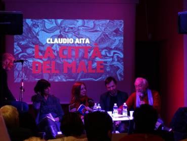 """Venerdì 18 marzo 2016. Presentazione del libro """"La Città del Male"""" al Caffè Letterario di Firenze"""