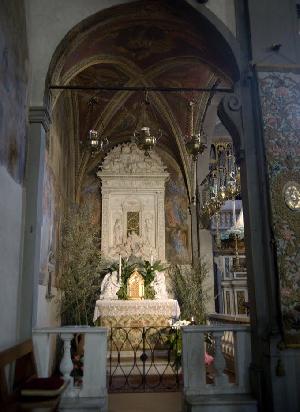 Firenze, chiesa di Sant'Ambrogio, cappella del miracolo del Sacramento