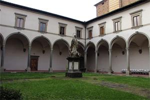 Seminario Maggiore Arcivescovile. Chiosro di san Bernardo