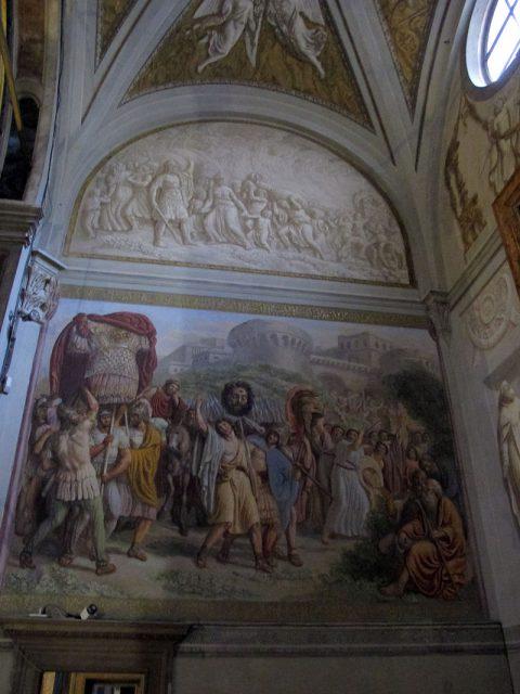 Santissima Annunziata. Cappella dell'Assunta (particolare)