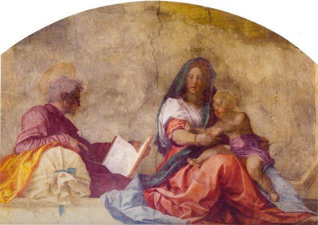 Santissima Annunziata. Andrea del Sarto Madonna. del sacco