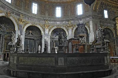 Santissima Annunziata. Vista del coro