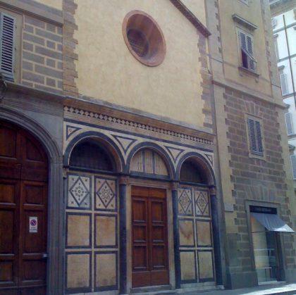 Firenze Chiesa di San Salvatore al Vescovo. Il Monastero dei delitti