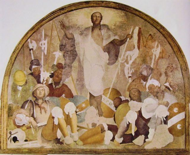 Certosa del Galluzzo. Pontormo. Resurrezione