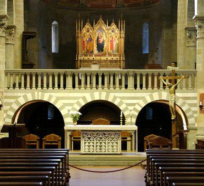 Fiesole. Cattedrale di San Romolo. Il Presbiterio