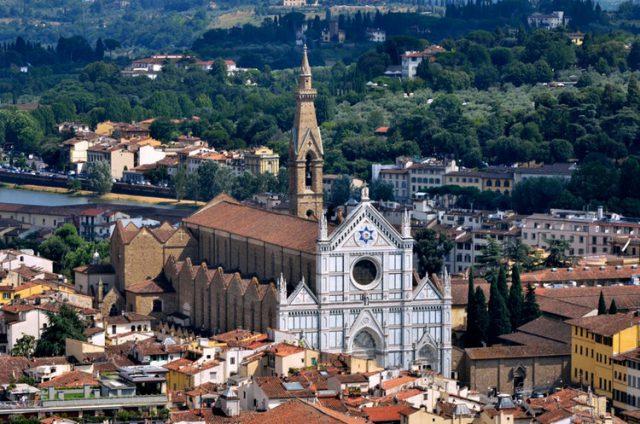 Firenze Basilica di Santa Croce