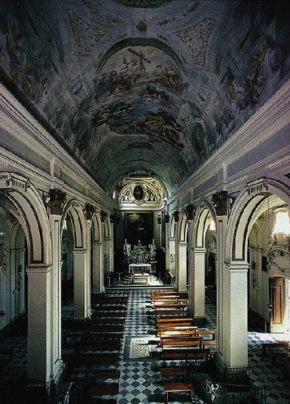 Santuario di Santa Verdiana a Castelfiorentino. Interno