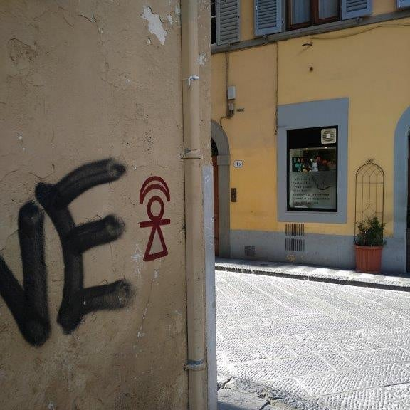 Firenze, Via Giuseppe Giusti angolo Borgo Pinti