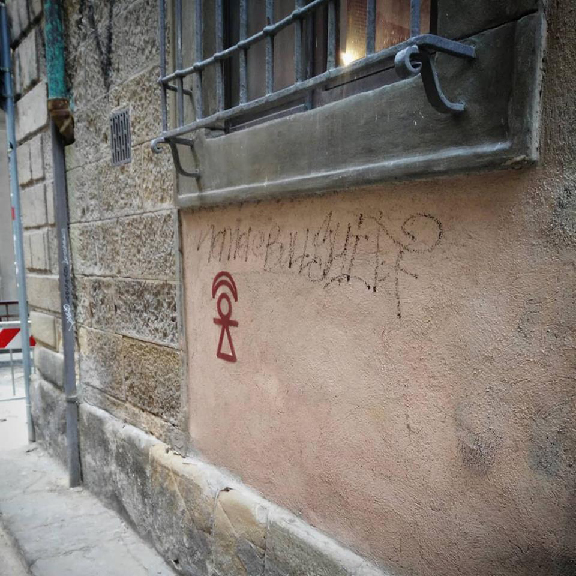Firenze, Via delle Burella, angolo Via dell'Acqua
