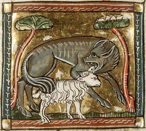 lupo medioevo scrittura claudioaita.it